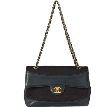 Chanel Black Matorasse Flap Chain Bag.  Luxury!