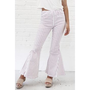 Grow Your Own Lavender Flared Pants