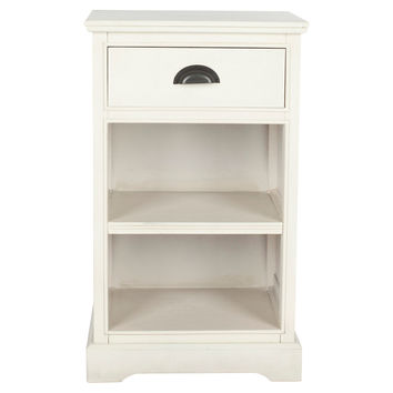 Griffin Nightstand, White, Nightstands