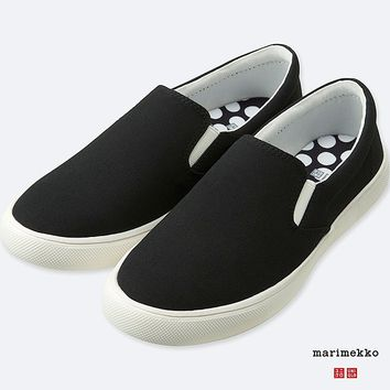 WOMEN MARIMEKKO CANVAS SNEAKERS