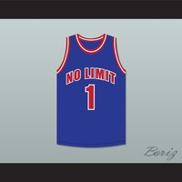 Master P 1 No Limit Blue Basketball Jersey