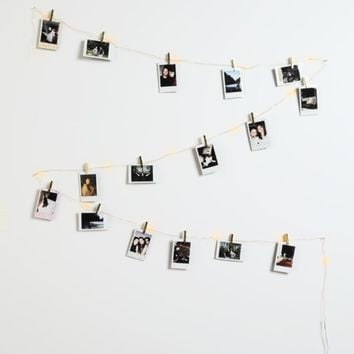 Gold Firefly Photo Clip String Lights | Lights | rue21
