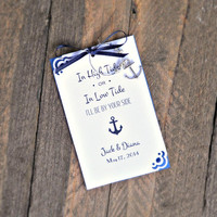 Wine Charm Favors for Beach & Destination Weddings , Bridal Showers , Engagement Parties , Rehearsal Dinners
