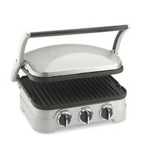 Cuisinart Griddler Grill, Griddle & Panini Press