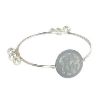 Charlotte Bangle Engraved