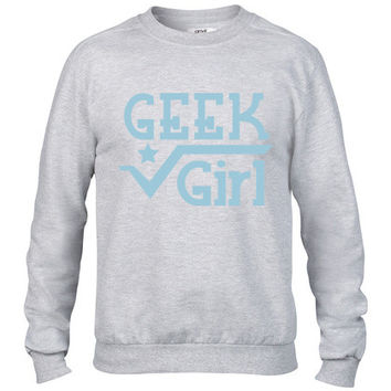 GEEK GIRL Crewneck sweatshirt