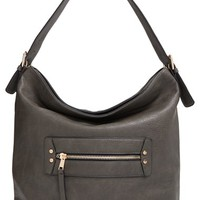 Sole Society 'Karine' Slouchy Faux Leather Hobo | Nordstrom