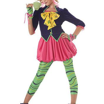 Tween/Teen Costumes The Mad Hatter (Large,Multicolor)