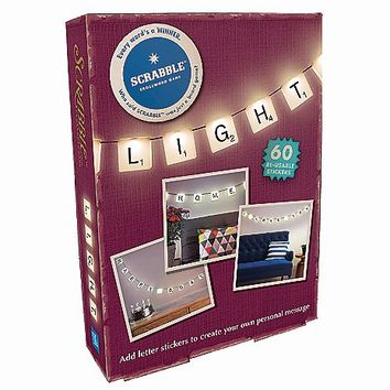 Scrabble Light Wall Stickers - Spencer's