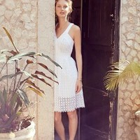 Lila Eyelet Dress by Leifsdottir White