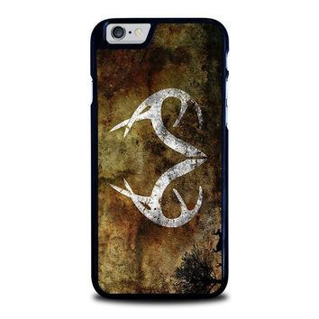 realtree deer camo iphone 6 6s case cover  number 1