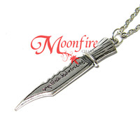 SUPERNATURAL Ruby's Demon Killing Knife Pendant Necklace