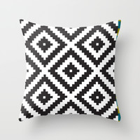 IKEA LAPPLJUNG RUTA Rug Pattern Throw Pillow by Dizzy Moments