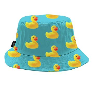 Neff Ducky Reversible Bucket Hat Ducky, One
