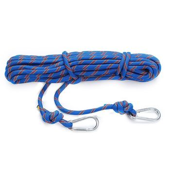 NEW Safurance 15M Outdoor Survival Paracord Rope Cord String Safety Lifeline Professional Safety Rope Rescue kits