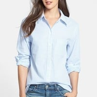 Women's Equipment 'Margaux' Pinstripe Cotton Shirt