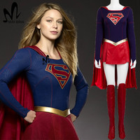 Supergirl Cosplay Costume Outfit 2017