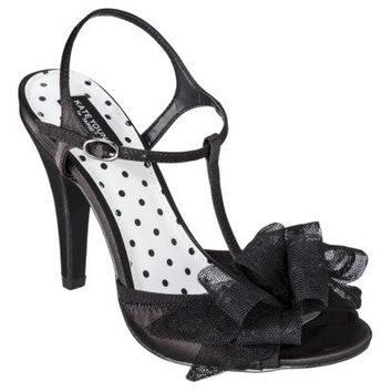 Women's Kate Young for Target® Novalee Sandal Pump with Bow Detail - Black