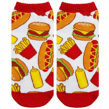 JUNK FOOD ANKLE SOCKS