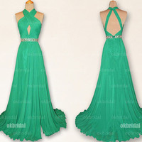green prom dresses, emerald green prom dresses, dresses for prom, prom dresses 2014, cute prom dresses,  cheap bridesmaid dresses, RE414