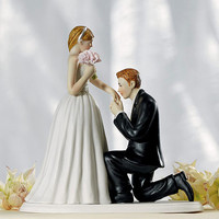 A Cinderella Moment Cake Topper | Bride Groom Cake Topper | Bride Groom Figurine