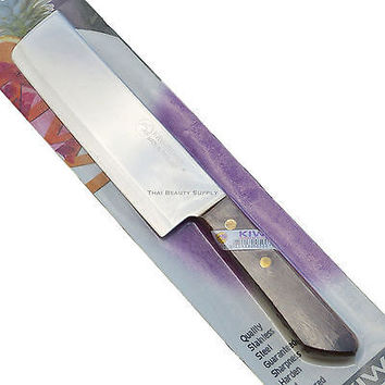 Kiwi Brand Stainless Steel 6.5 inch Blade Thai Chef's Cooking Knife No. 172