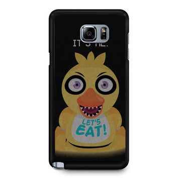 Five Nights At Freddy S Chica Samsung Galaxy Note 5 Case