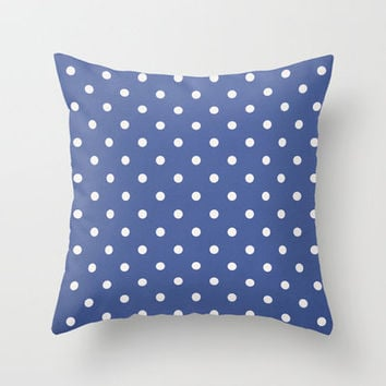 Polka Party Royal Throw Pillow by Shawn Terry King