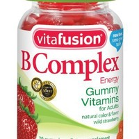 Vitafusion B Complex Gummy Vitamins, 70 Count (Pack of 3)