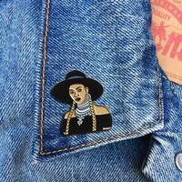 Beyonce Formation Pin, Soft Enamel Pin, Jewelry, Art, Artist, Gift (PIN116)