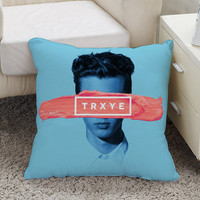 trxye troye sivan cover album Square Pillow Case Custom Zippered Pillow Case one side and two side