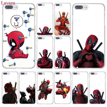 Deadpool Dead pool Taco Lavaza 3D Super Cool Marvel  Phone Case for Apple iPhone XR XS Max X 8 7 6 6S Plus 5 5S SE 5C 4S 10 Cover 8Plus Cases AT_70_6