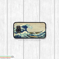 The Great Wave, Vintage Japanese Art Print, Custom Phone Case for Galaxy S4, S5, S6