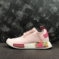 Adidas Wmns NMD R1 'Pink Floral' Running Shoes
