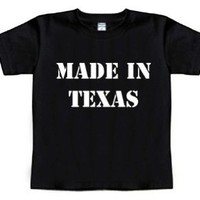Funny Baby T-Shirt Size 2T (MADE IN TEXAS) Toddler Tee Shirt