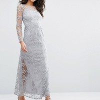 Vero Moda Jessie Long Sleeve Maxi Dress at asos.com