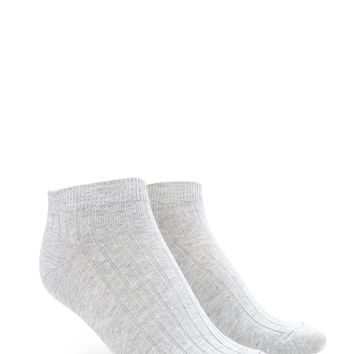Ribbed Ankle Socks