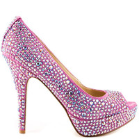 Enzo Angiolini - Show You - Dark Pink Fabric