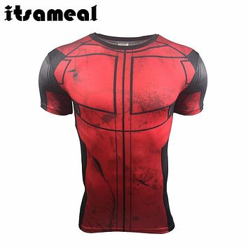 T Shirt Deadpool Costume Display Tee 3D Printed T-shirts Men Fitness Clothing Male Tops Funny Superman Fun Deadpool Shirt
