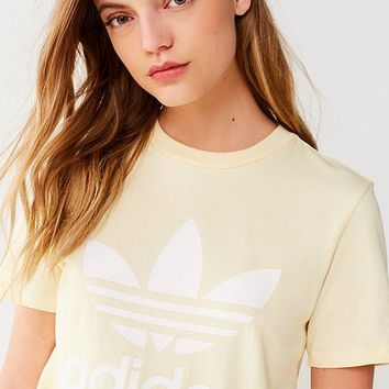 adidas Originals Adicolor Trefoil Crew-Neck Tee