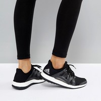 adidas Training Pureboost Xpose Sneakers In Black at asos.com