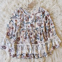 Winterberry Lace Top
