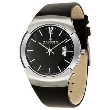 Skagen Black Label Executive Mens Quartz Watch 981XLSLB