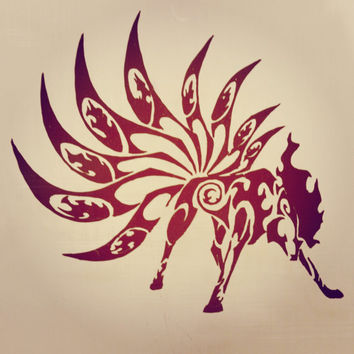 Pokemon Ninetales Vinyl Decal Sticker