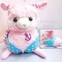 Pirate Alpaca Plush - Pink
