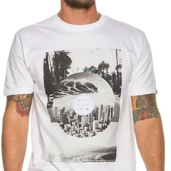 QUIKSILVER CA EXCURSION SS TEE