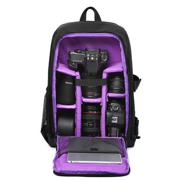 Nylon Hard Camera Bag 0910-54