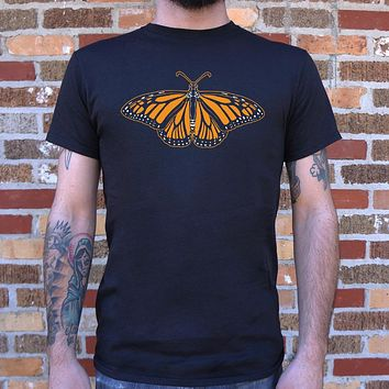 Monarch Butterfly T-Shirt (Mens)