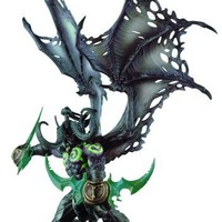 World of Warcraft Deluxe Collector Figure: Illidan (Demon Form)