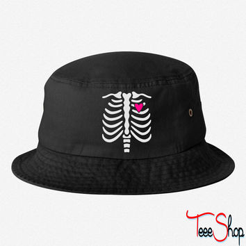 Gladditudes Maternity Skeleton Top 2012 bucket hat